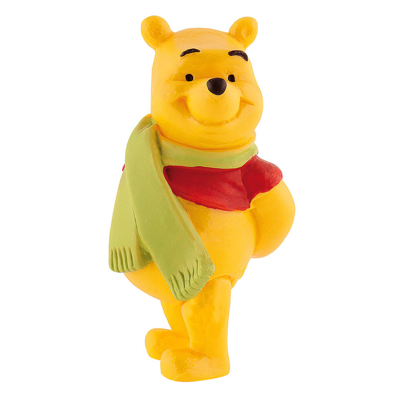 Figura Winnie con bufanda Winnie the Pooh Disney