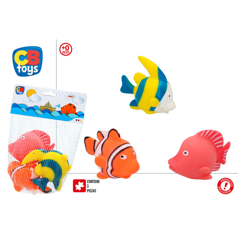 Set 3 peces vinilo