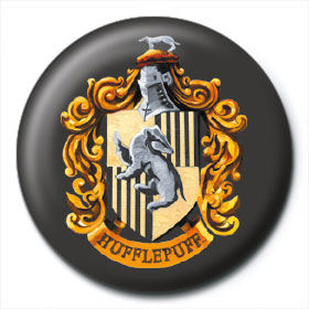Chapa Hufflepuff Harry Potter