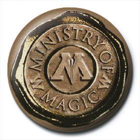 Chapa Ministerio de Magia Harry Potter