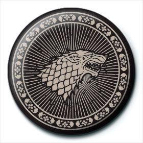 Chapa Stark Juego de Tronos