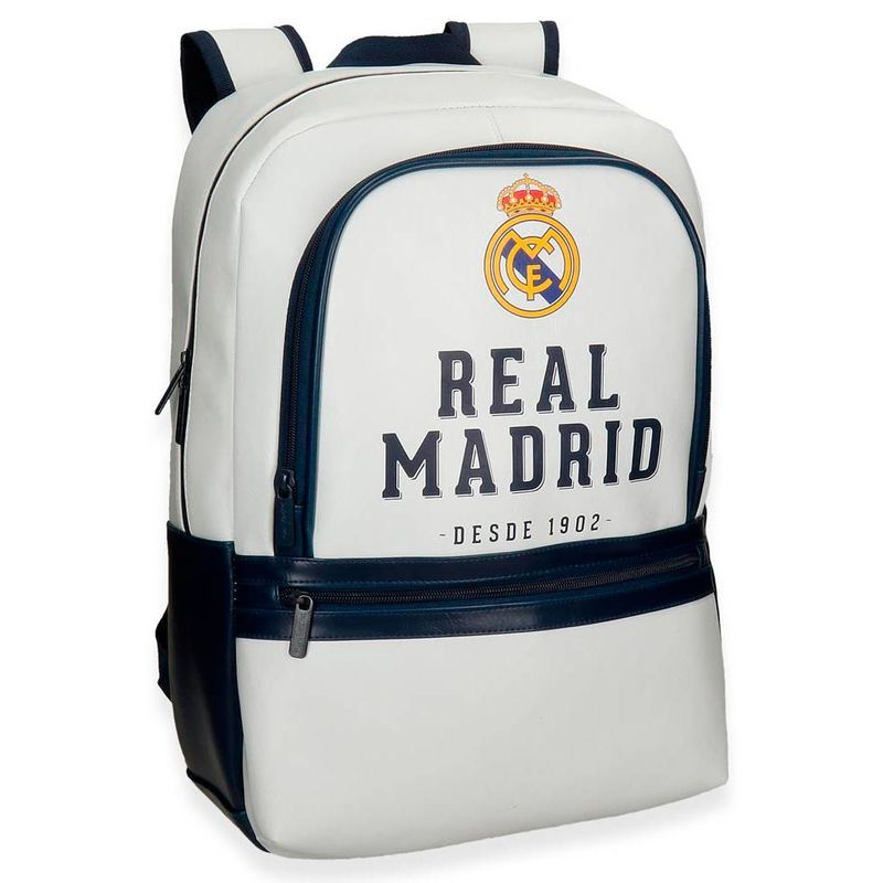 Mochila ordenador Real Madrid 44cm adaptable