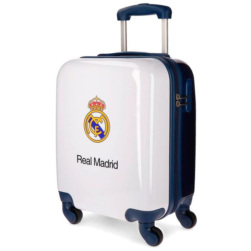 Maleta trolley ABS Real Madrid 4r 46cm