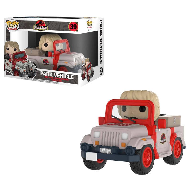 Figura POP Jurassic Park Vehicle