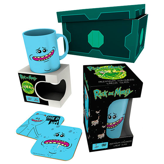 Caja regalo Meeseeks Rick & Morty