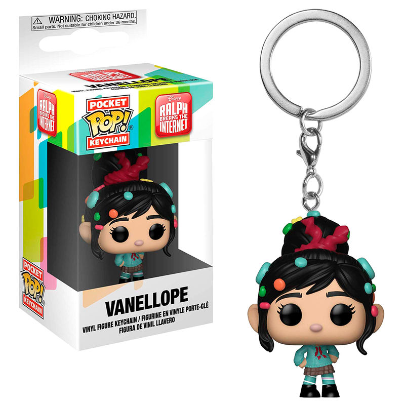 Llavero Pocket POP Disney Wreck-It Ralph 2 Vanellope