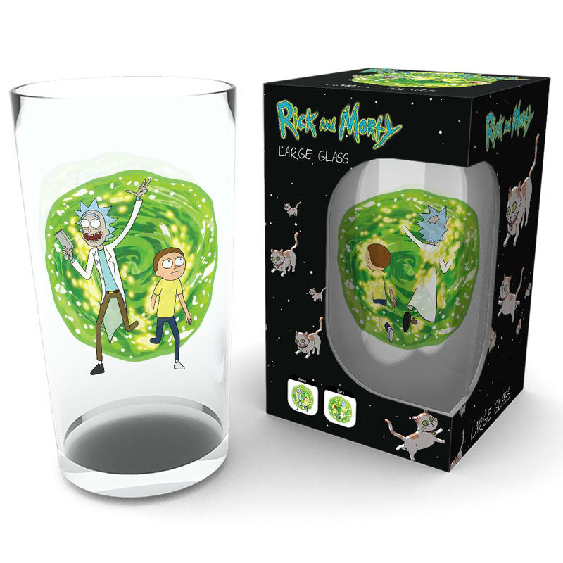 Vaso Portal Rick & Morty