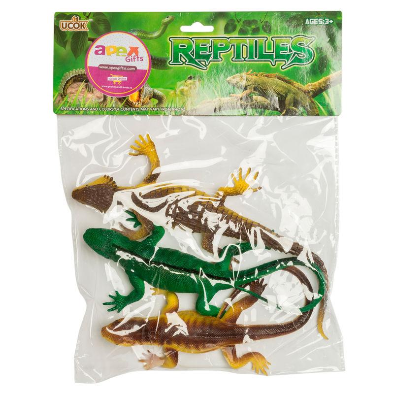 Set lagartos 3pzs