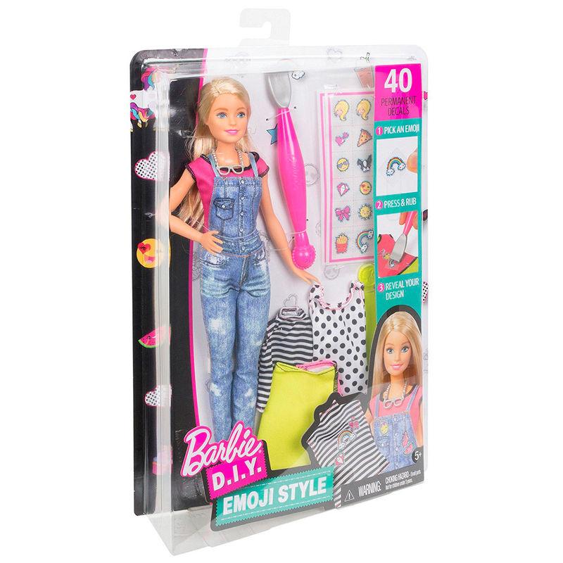 Muñeca Barbie Emoji Style