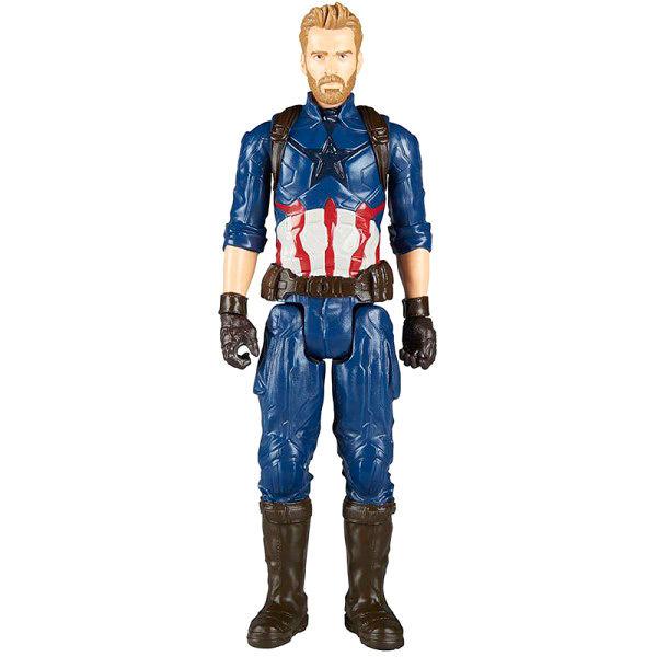 Figura Capitan America Infinity War Titan Vengadores Avengers Marvel