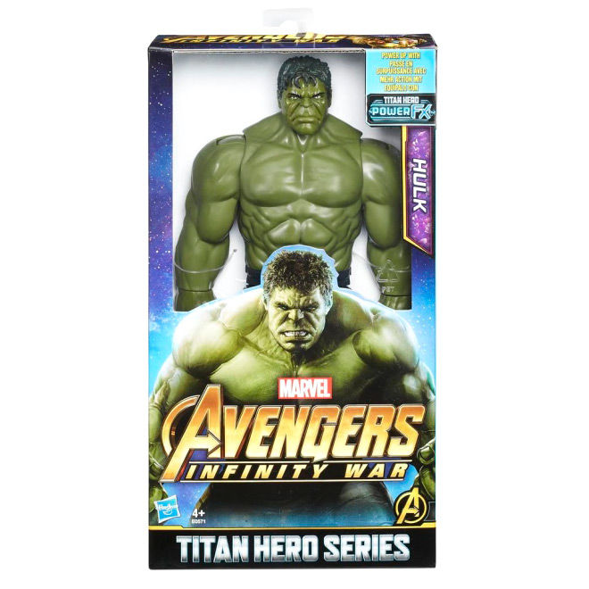 Figura Hulk Infinity War Titan Vengadores Avengers Marvel