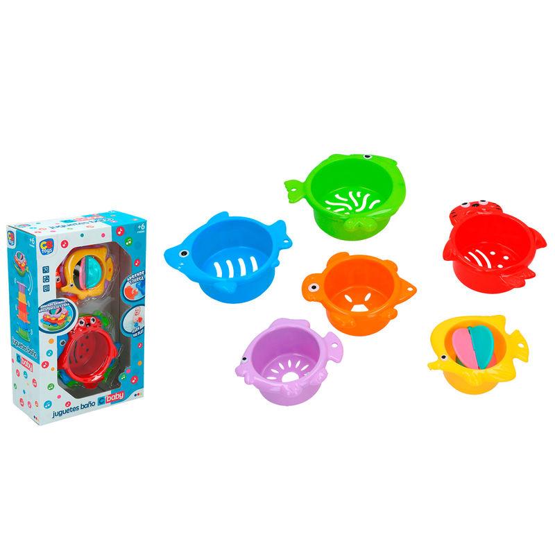 Set juguetes baño