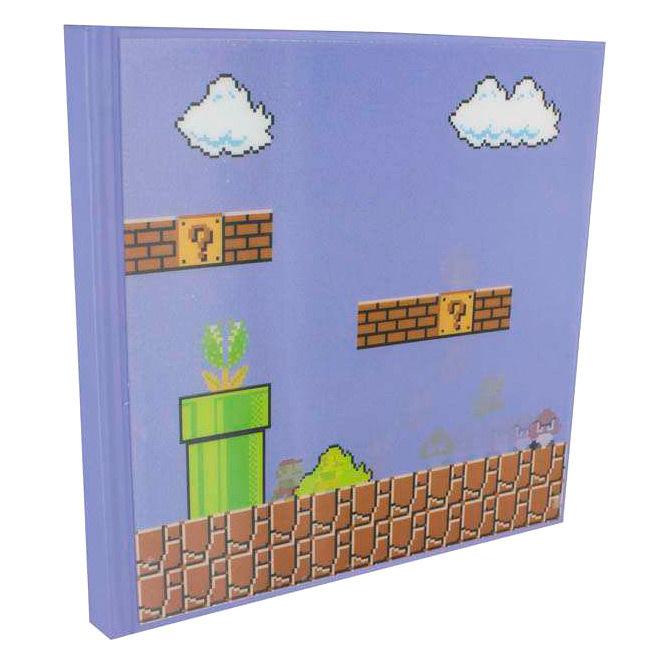 Cuaderno 3D Super Mario Bros Nintendo