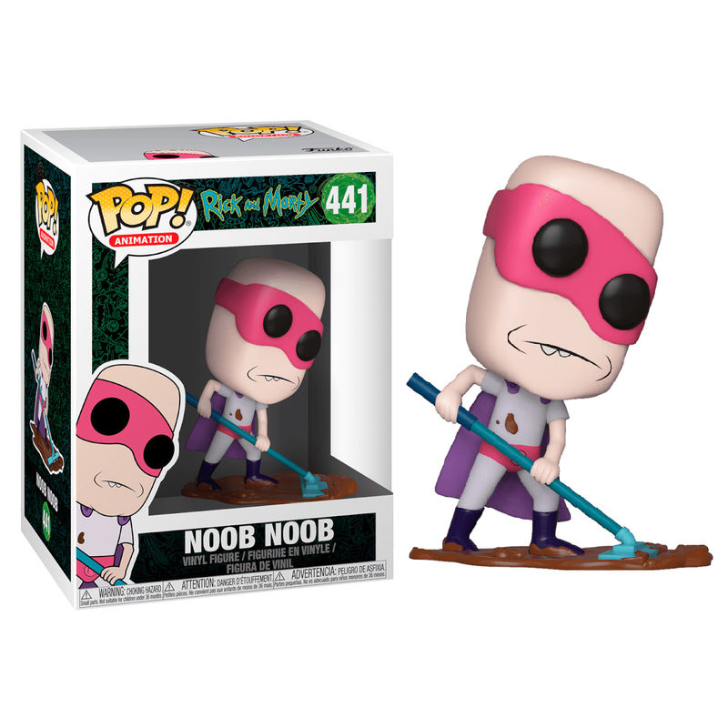 Figura POP Rick & Morty Noob Noob