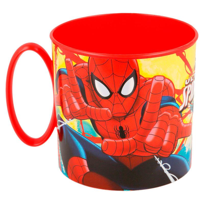 Taza Spiderman Marvel microondas
