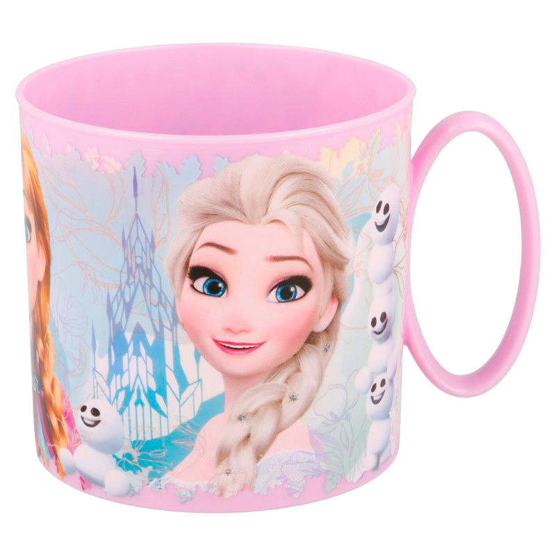 Taza Frozen Disney microondas