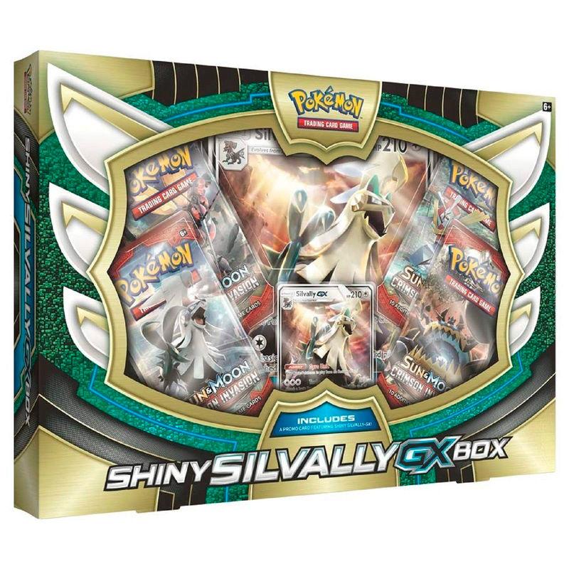 Caja coleccion Silvally-GX Variocolor Pokemon