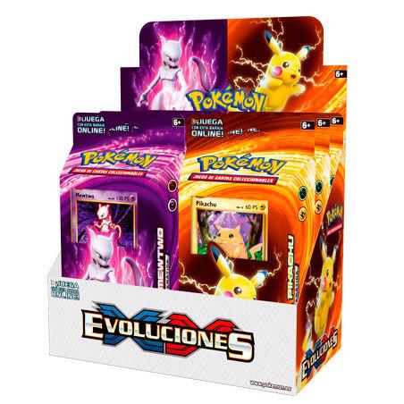 Baraja XY Evoluciones Pokemon surtido