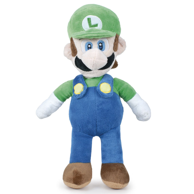 Peluche Luigi Super Mario Bros Nintendo soft 20cm