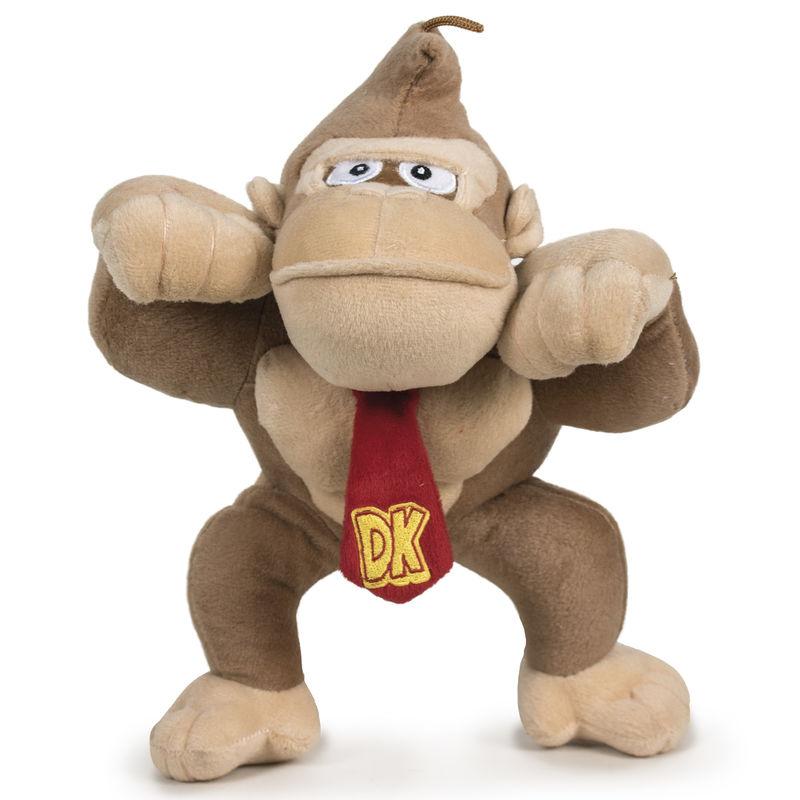 Peluche Donkey Kong Super Mario Bros Nintendo soft 20cm