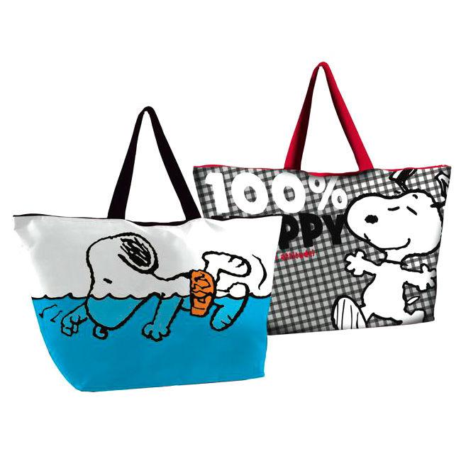 Bolsa playa Snoopy Attitude surtido