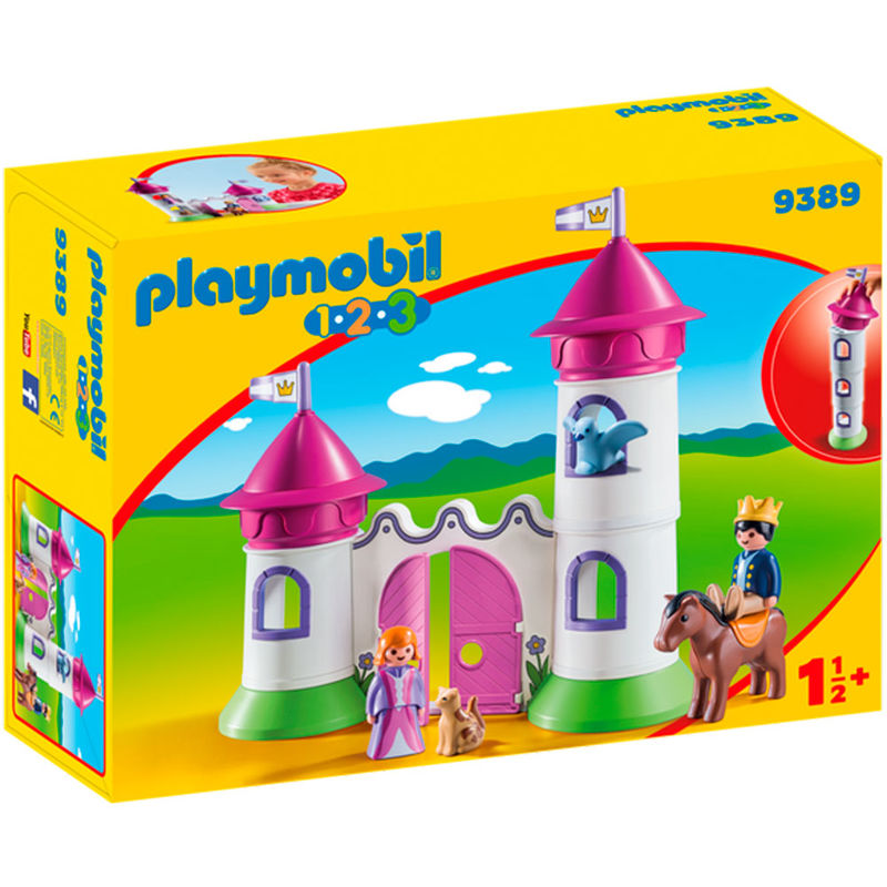 1.2.3 Castillo con Torre Apilable Playmobil