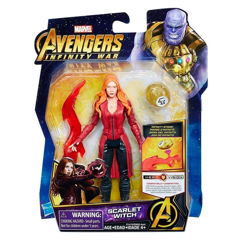 Figura Scarlet Witch Vengadores Avengers Marvel