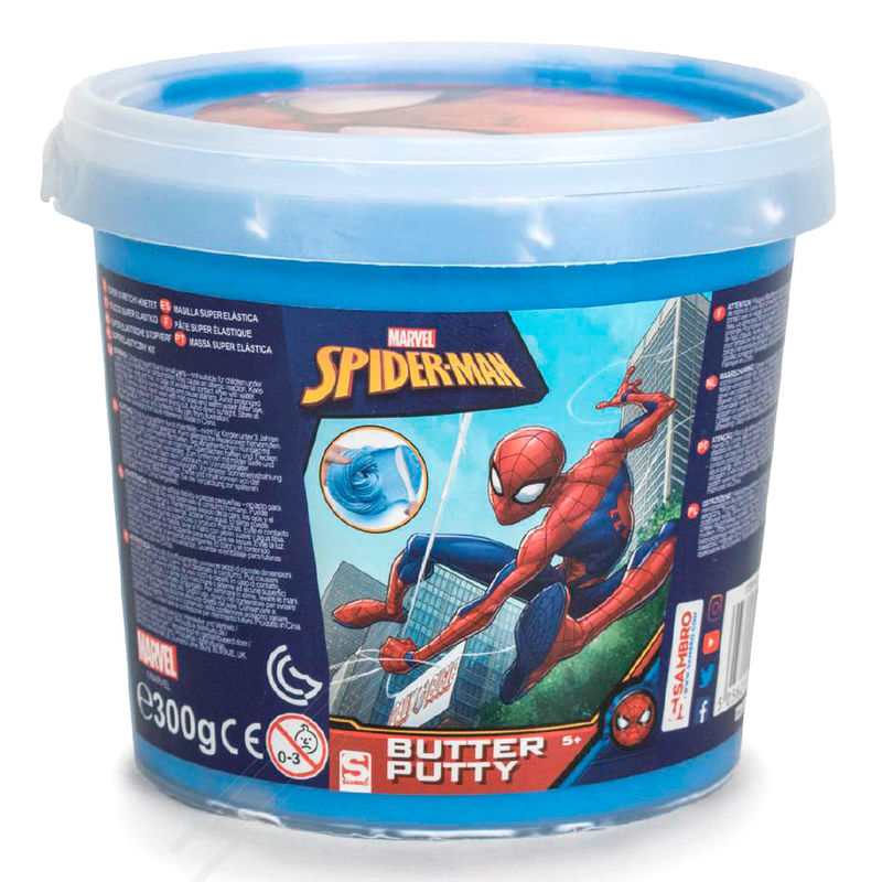 Slime Bouncy Putty Spiderman Marvel
