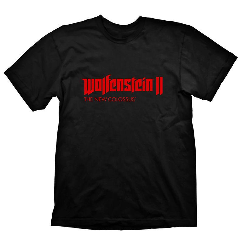 Camiseta Logo Wolfenstein 2