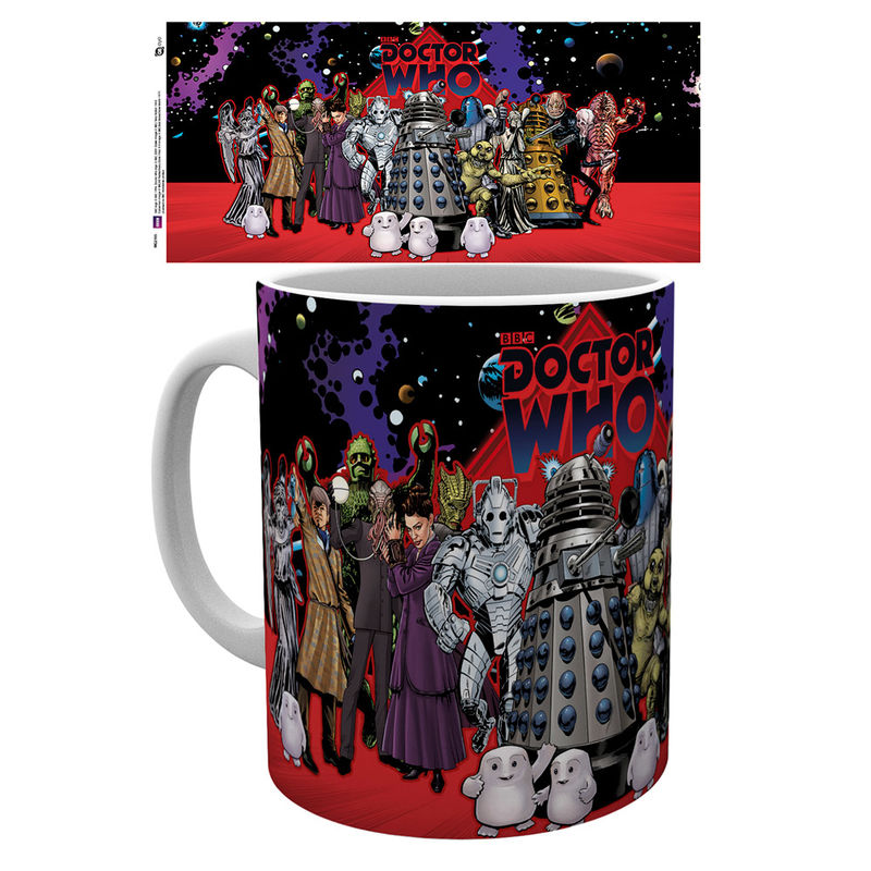 Taza Doctor Who Universe Group