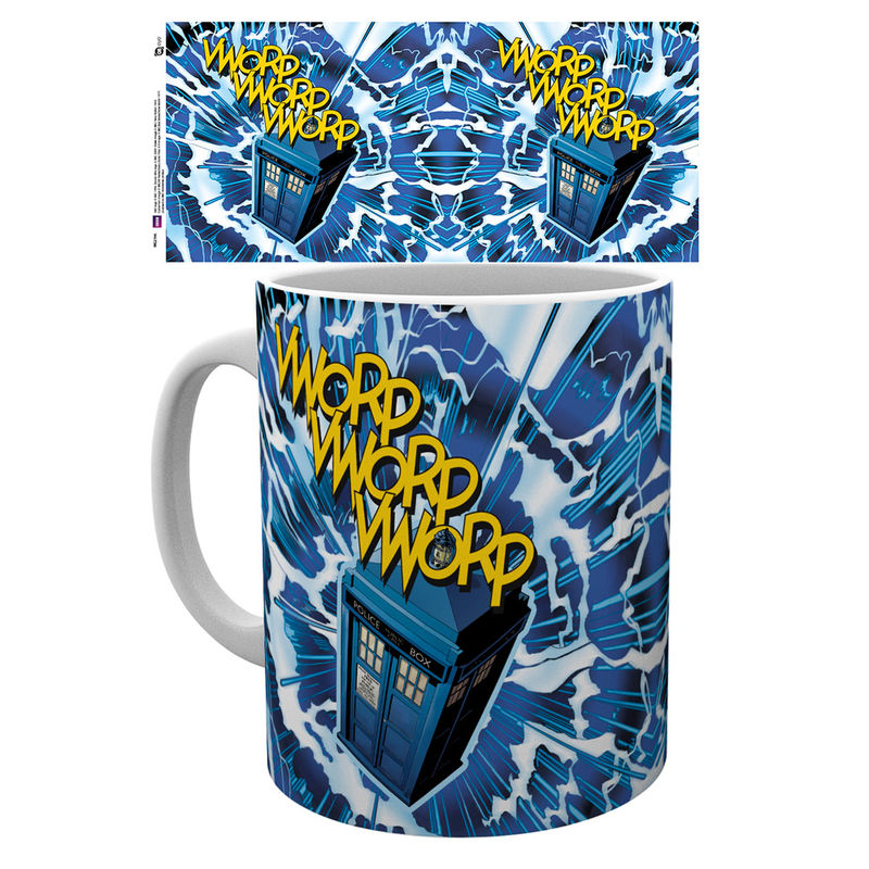 Taza Doctor Who Universe Vworp
