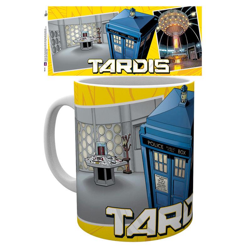 Taza Doctor Who Universe Tardis Scene