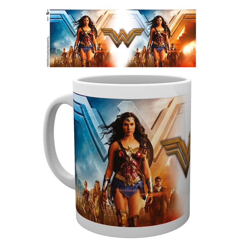 Taza Wonder Woman Movie Group