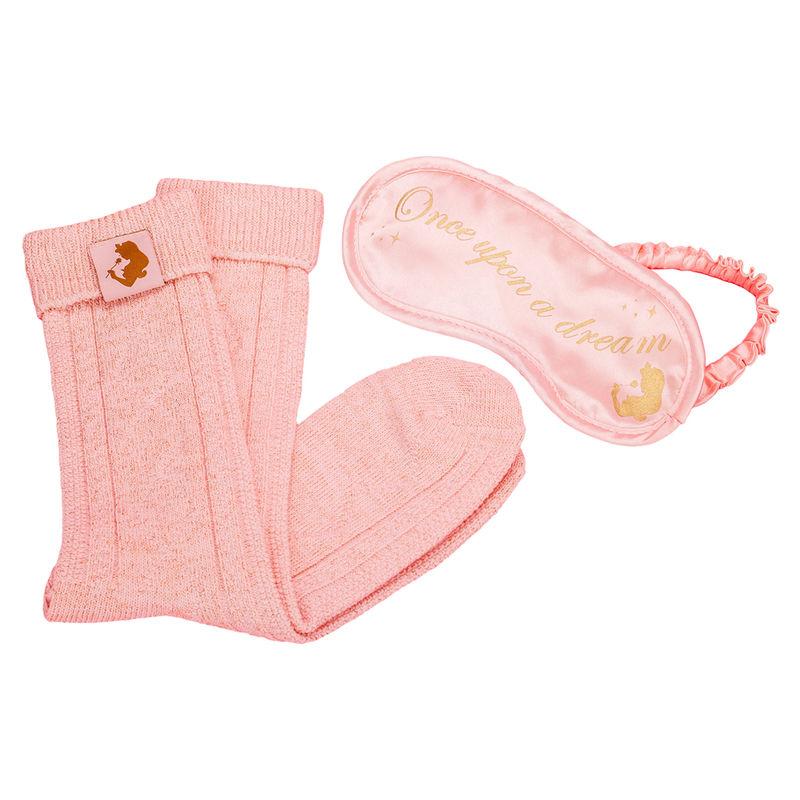Antifaz + calcetines La Bella y la Bestia  Disney