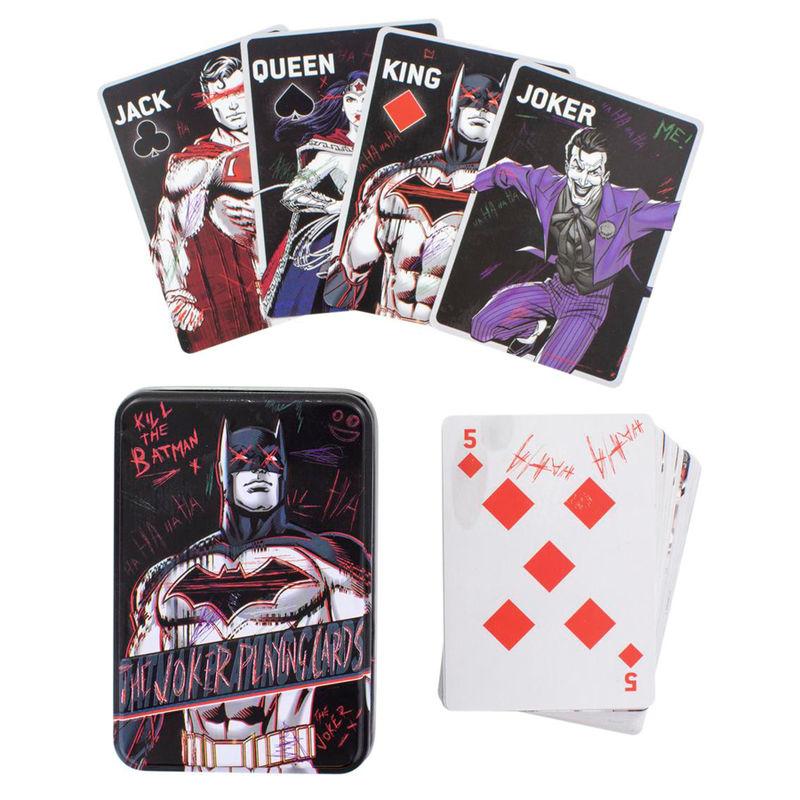 Baraja cartas Joker DC Comics