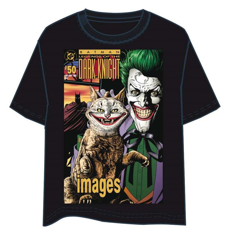 Camiseta Batman Joker Cat adulto