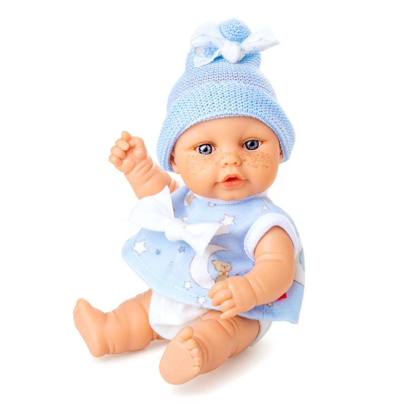Muñeca Mini Baby camisa azul
