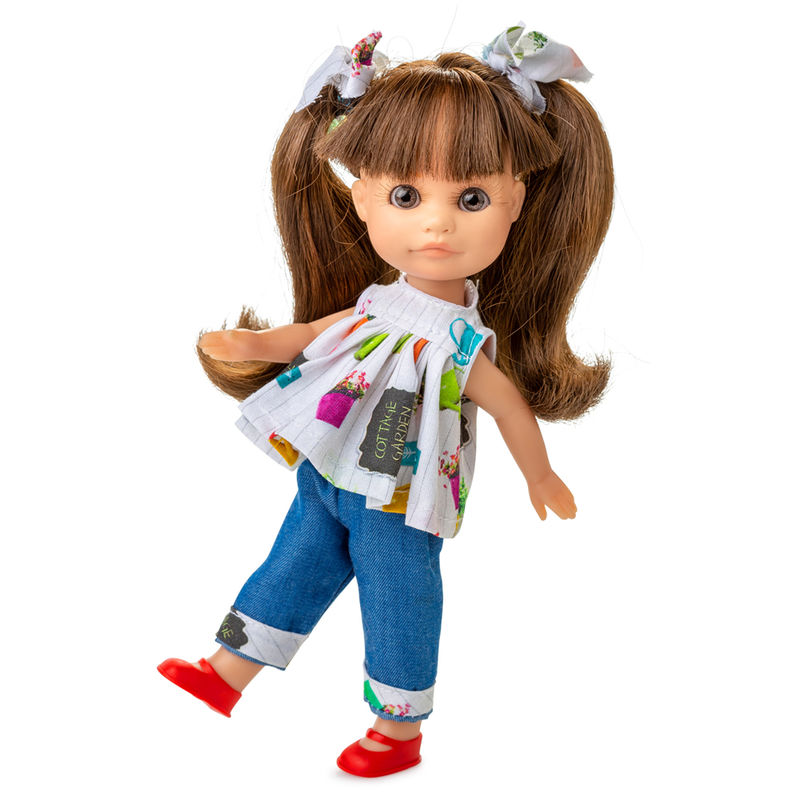 Muñeca Luci vestido vaquera