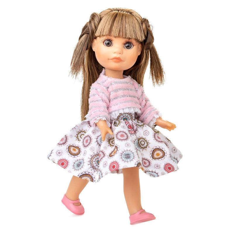 Muñeca Luci vestido jersey rosa