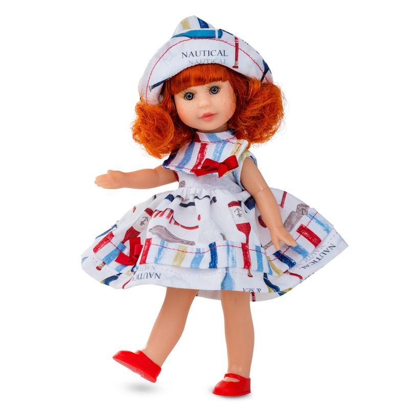 Muñeca Irene pelirroja con armario