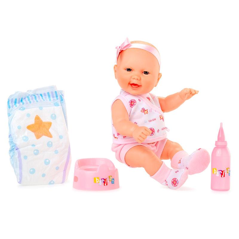 Muñeca Baby Pipi traje rosa