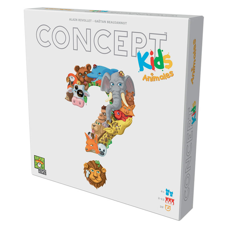 Juego mesa Concept Kids Animals