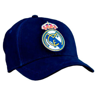 Gorra Real Madrid junior azul