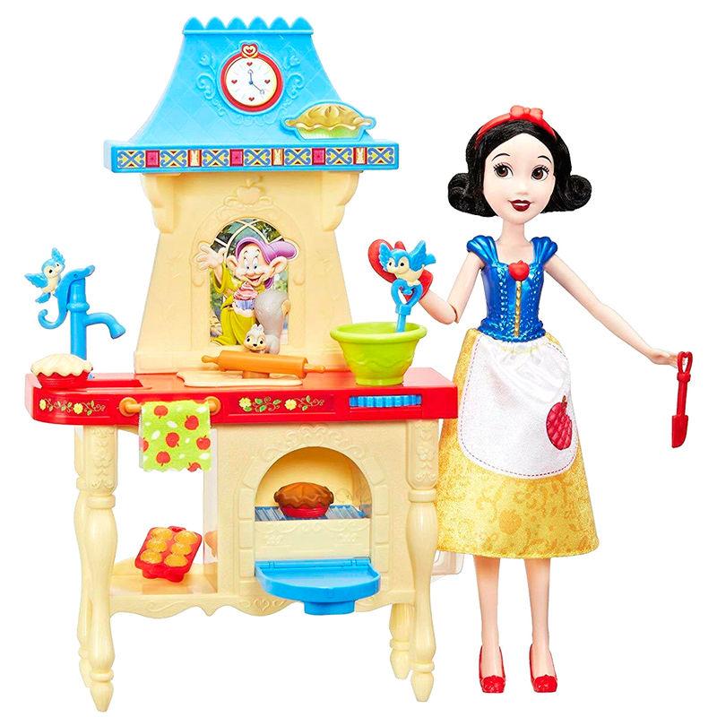 Muñeca Blancanieves Cocina Disney