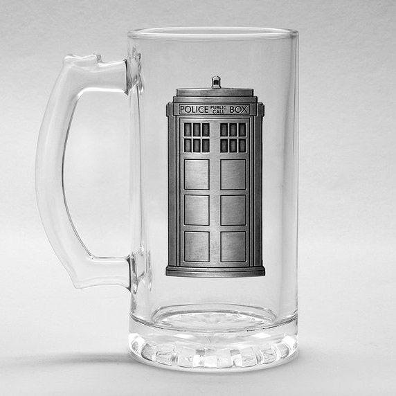 Jarra cristal Doctor Who Tardis