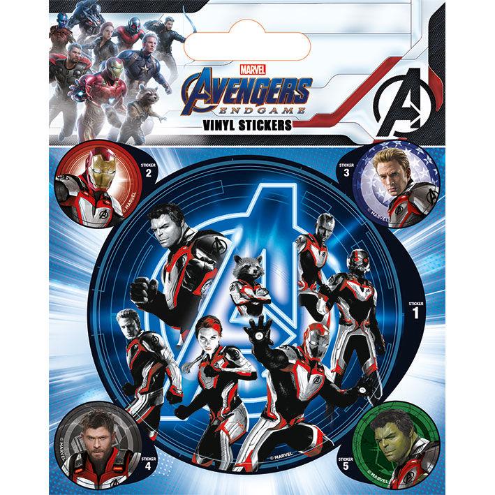 Set vinilos pegatinas Marvel Vengadores Avengers