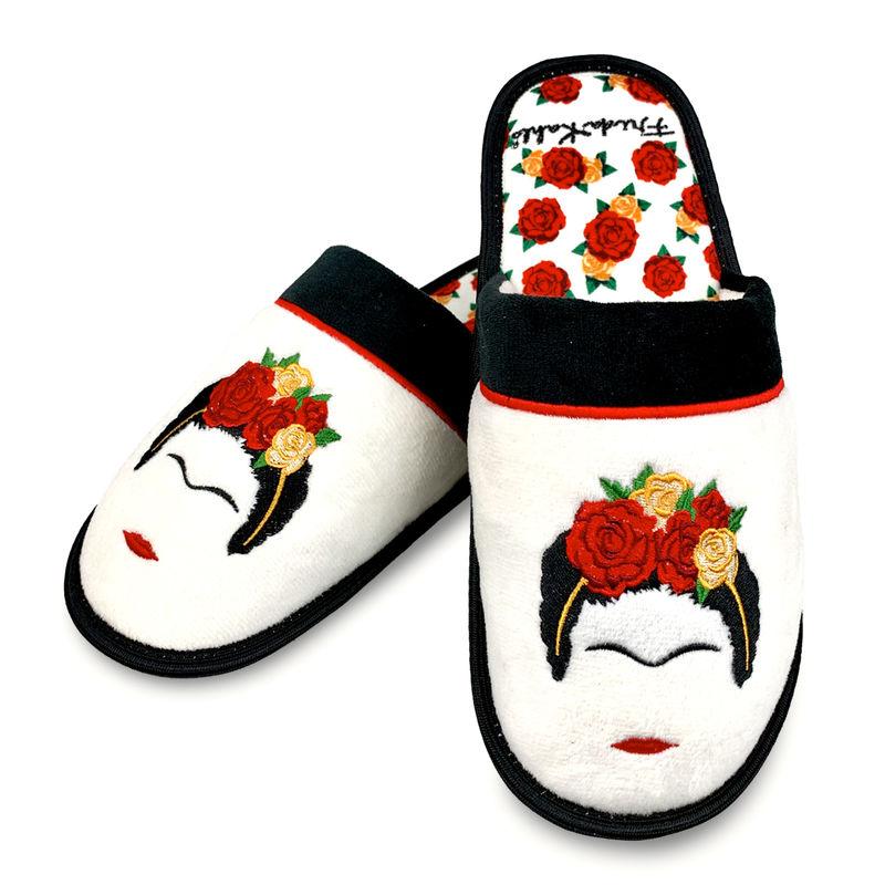 Pantuflas Frida Kahlo mujer