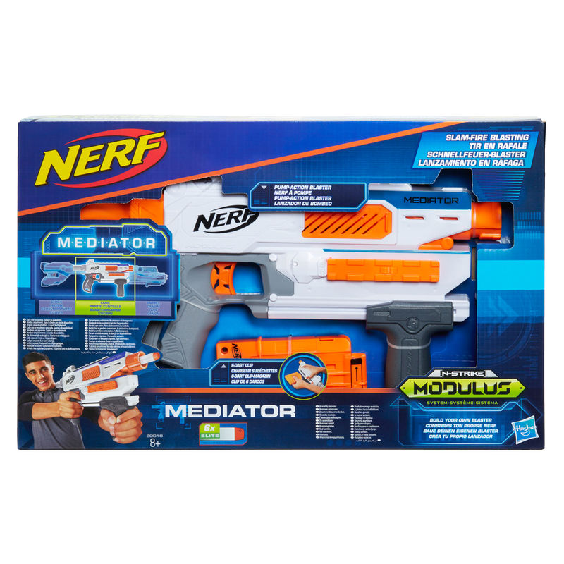 Lanzador Modulus Mediator Nerf