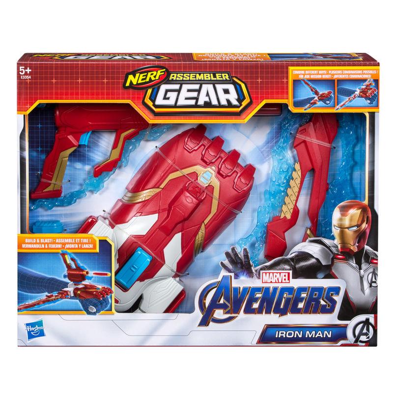 Lanzador Assembler Gear Iron Man Vengadores Marvel