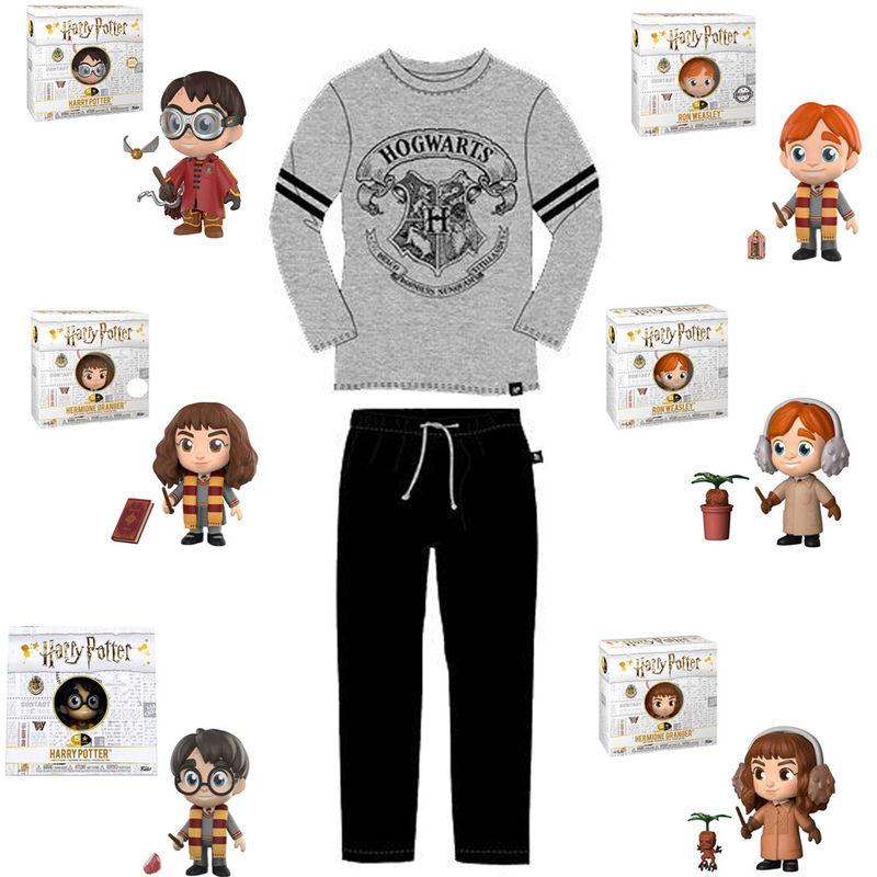 Oferta Harry Potter ¡por cada pijama GRATIS 1 figura Funko!